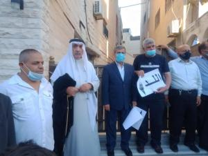 وقفة تضامنية مع فلسطين في جبل الحسين