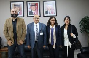 """ريادة أعمال """"الشرق الأوسط"""" يبحث سبل التعاون مع برنامج الأغذية العالمي"""