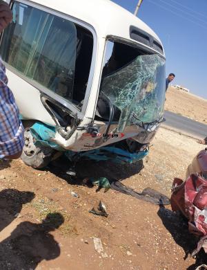 """وفاة و 14 إصابة بحادث مروع في """"الصالحية"""" - صور وفيديو"""