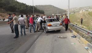 4 وفيات بحادث سير مروع على طريق غور الصافي