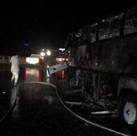 وفاة 35 معتمراً من جنسيات مختلفة باحتراق حافلة بالسعودية
