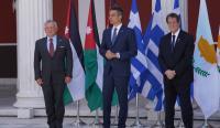 """""""جراسا"""" تنشر نص بيان القمة الأردنية القبرصية اليونانية"""