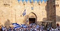 مسيرة المستوطنين تصل باب العمود واشتباكات مع مقدسيين