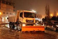 الامانة: 135 آلية مخصصة للتعامل مع الثلوج على 36 مسار