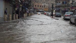 الامانة: لا ارتفاع بمنسوب المياه في شوارع عمان