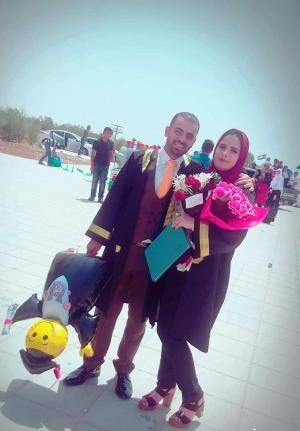 تهنئة بتخرج ياسين وسلام ابراهيم الصعوب