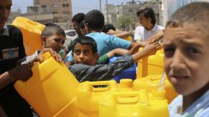 العطش يتهدد غزة ..