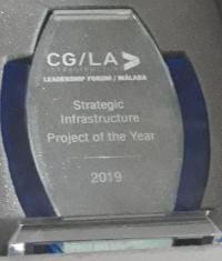 """""""الناقل الوطني"""" للمياه يفوز بجائزة افضل مشروع استراتيجي عالمي"""