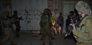 اعتقالات بالضفة تطال 19 فلسطينيا