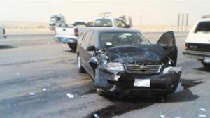 14 اصابة بحادثي سير منفصلين