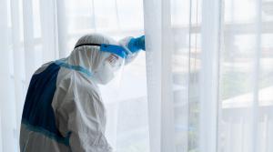مخالطون لمصابة بكورونا ينتظرون فرق التقصي الوبائي 7 أيام