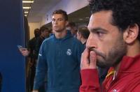 رونالدو يوجه نظرة الشر لمحمد صلاح قبل المباراة
