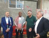 فلسطين النيابية تزور منزل ابو جابر (صور)