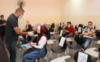"""مركز فحص دائم في """" عمان العربية """" لفيروس كورونا (صور)"""
