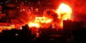 الاحتلال يواصل قصف غزة ..  والمقاومة ترد بصواريخ وصلت تل ابيب