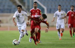 تعادل منتخب النشامى مع لبنان