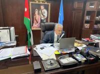 """رئيس جامعة عمان الأهلية يشارك بندوة التحديات والفرص في ظل """"كورونا """""""