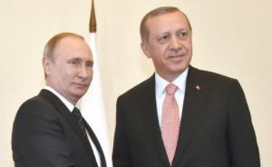 أردوغان يطلع بوتين على تفاصيل التدخل التركي في جرابلس