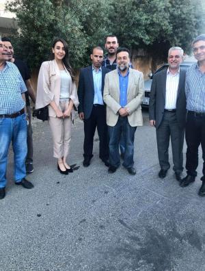 الإفراج عن مالك قناة الأردن اليوم والإعلامية الحموز بكفالة