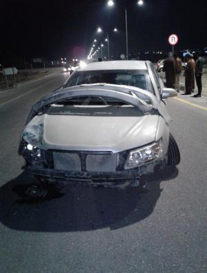 مركبة بلوحة سعودية تدهس طفلا على دراجته الهوائية ..