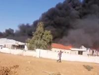 عمليات مكافحة  حريق القسطل مستمرة  والأسباب قيد التحقيق (صور)