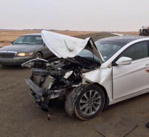 5 اصابات بحادث تصادم في عمان
