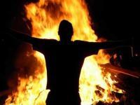مواطن يضرم النار بنفسه في جرش