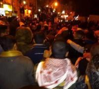 مسيرة ليلية في السلط احتجاجاً على رفع الاسعار