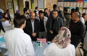 """يوم تطوعي صحي في """"عمان العربية"""""""