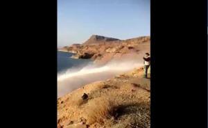 الناصر يوضح حقيقة انفجار مياه عذبة بالبحر الميت (فيديو)