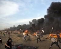 استشهاد طفل برصاص الاحتلال شرق خان يونس