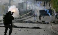 إصابات خلال مع مواجهات مع جنود الإحتلال ومستوطنين بالخليل
