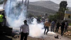 إصابات خلال مواجهات مع الاحتلال في نابلس