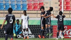 اليابان تسحق غانا ..  والبرازيل تتجاوز نيجيريا في مونديال الناشئات