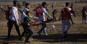 هيئة مسيرة العودة بغزة تسنكر استهداف الإعلاميين