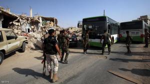 غارات على حمص ..  وتهجير سكان داريا بالكامل