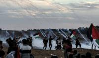 """إصابات بمسيرة """"استئناف العودة"""" في غزة"""