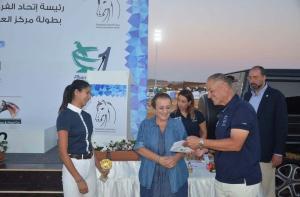 الدوري العربي للقفز ينطلق الخميس من مركز العريان