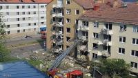 السويد ..  إصابات بانفجار ضخم في مبنى سكني