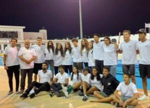منتخب الأردن للسباحة يشارك في البطولة العربية