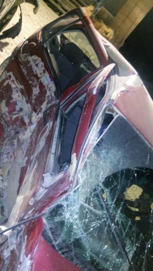 """جرش  ..  12 اصابة بحادث تصادم في """" ظهر السرو"""" (صور)"""