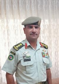 تهنئة للعقيد الركن بالقوات المسلحة عبدالله الحويان بمناسبة الترفيع