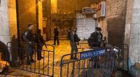 إصابة شرطيين في هجوم طعن في البلدة القديمة