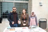"""طلبة إعلام جامعة الشرق الأوسط ينفذون حملة """"وميض"""""""