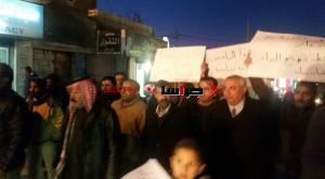 """مسيرة ذيبان :"""" تسقط حكومة الجباية"""" (صور)"""