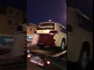 """سمّى مولودته """"قطر """" فتلقى مركبة فارهة من """"قطر"""" (فيديو)"""