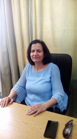 مبارك الترفيع للدكتورة رغده عرنكي