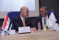 المهندس أبو هديب يرعى ندوة حول العلاقات الأردنية العراقية