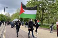 مظاهرات عربية وعالمية متضامنة مع فلسطين
