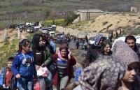 سوريا: نزوح أكثر من 150 ألف شخص عن عفرين